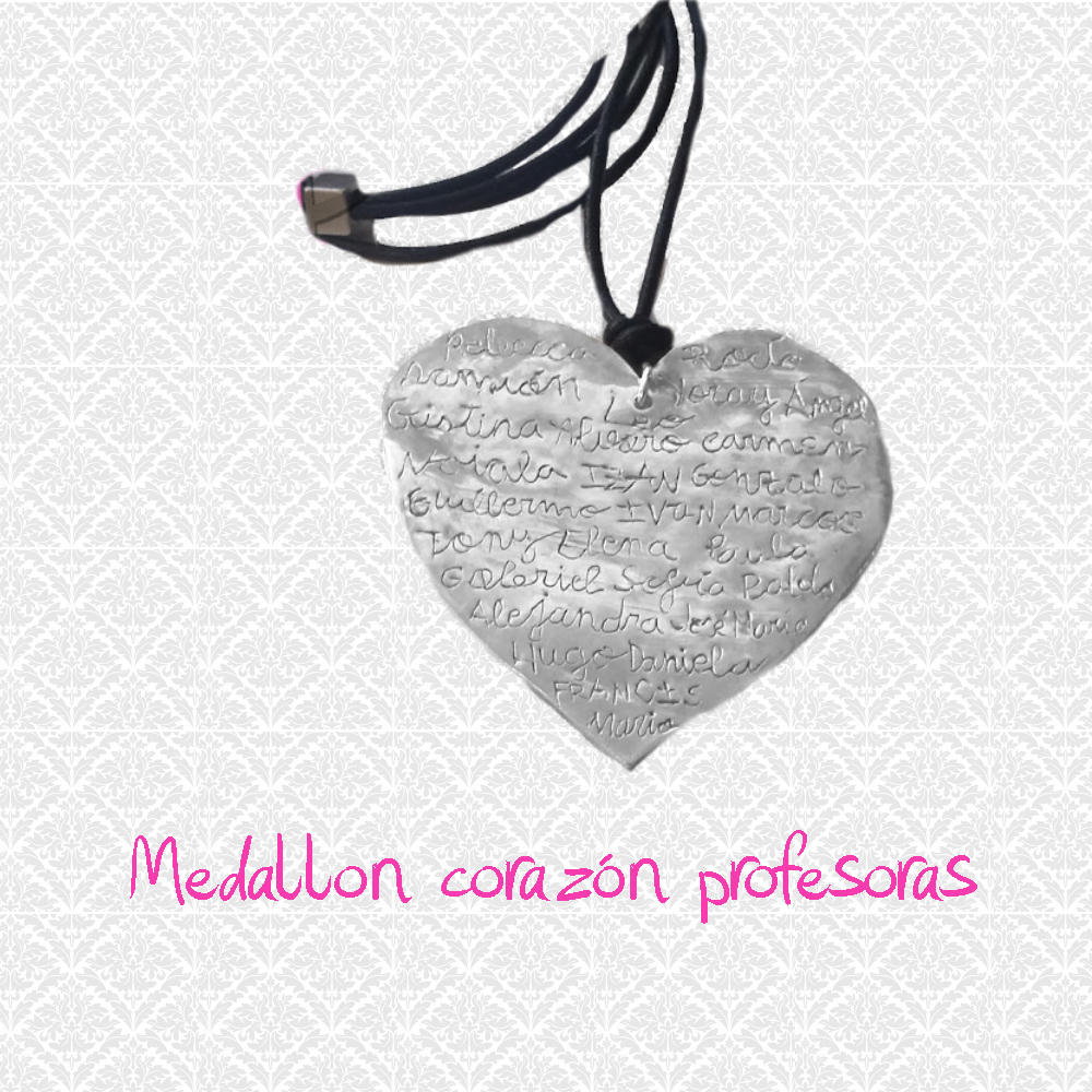 medallon corazon