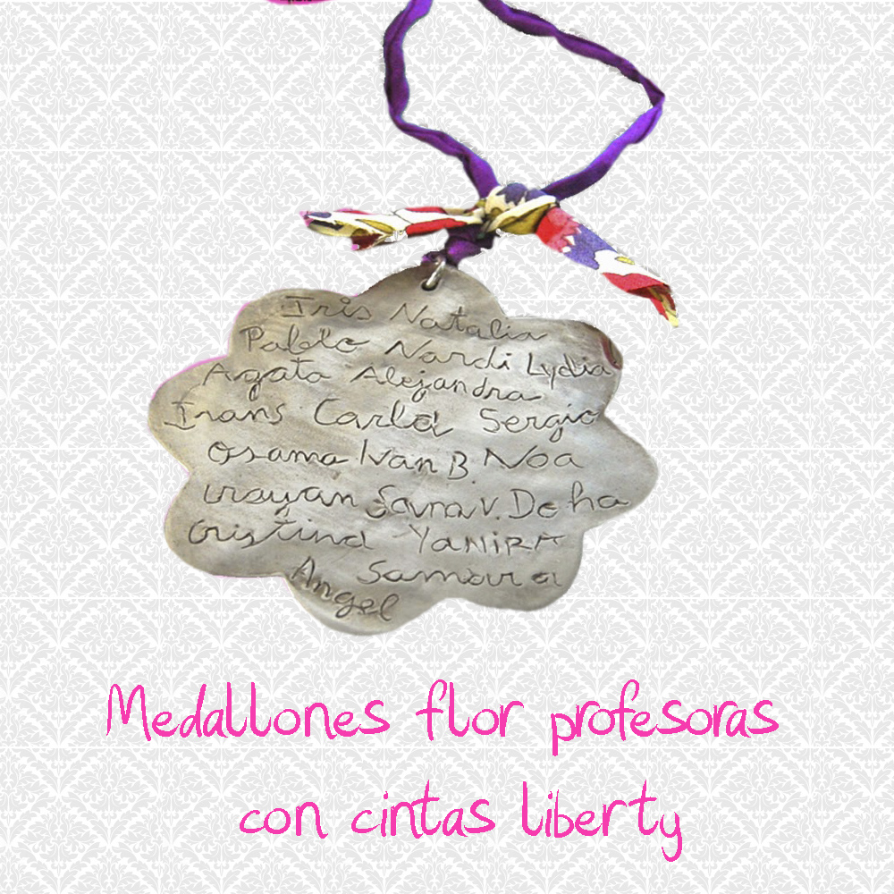 medallon flor liberty