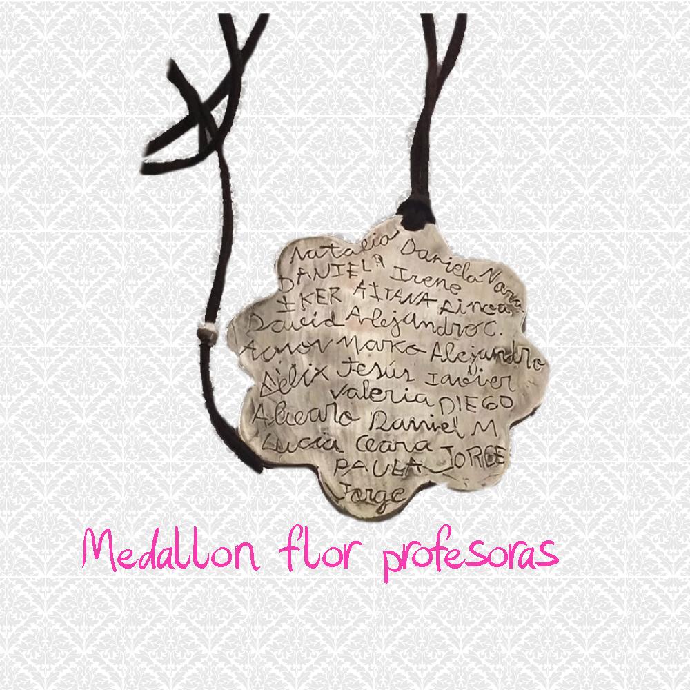 medallon flor